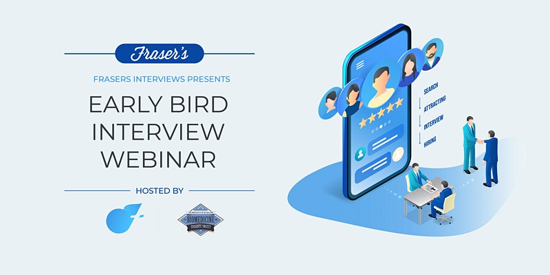 Free Early Bird Interview Workshop   Online   Cohosted by BSS