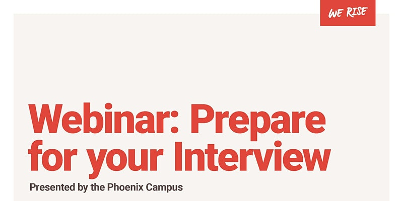 Prepare for your Interview