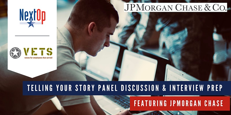 Telling Your Story Panel & Interview Preparation featuring JPMorgan Chase