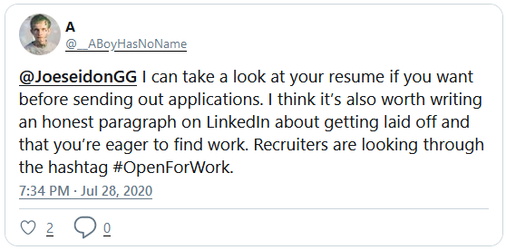 🏹 How To Show You're Using LinkedIn To Find a Job