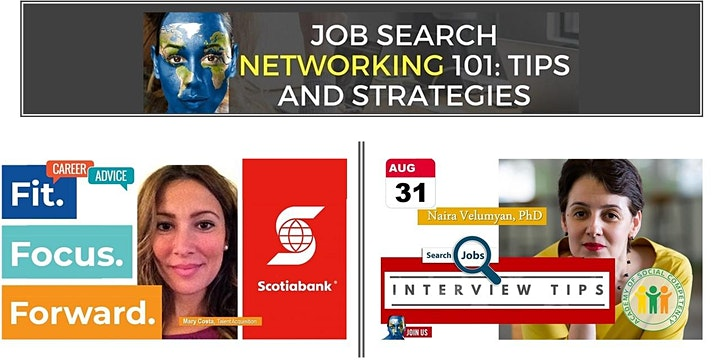 Job Search Networking: Tips for Job Seekers