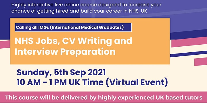 NHS Jobs, CV Writing and Interview Preparation