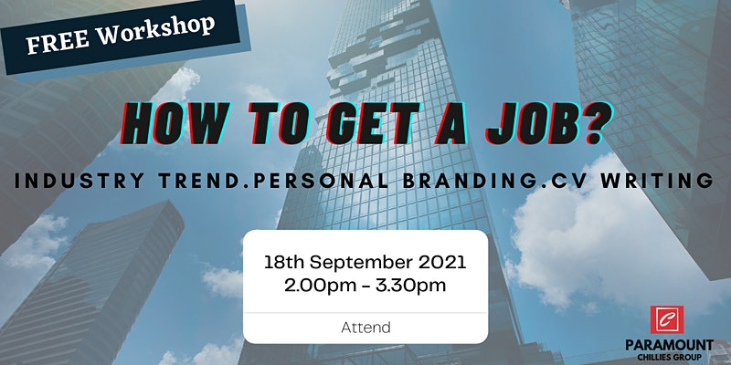 FREE Workshop: How to Get A Job