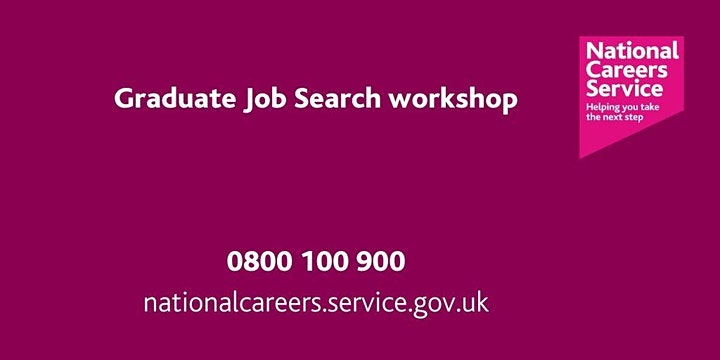 Graduate Job Search Workshop - Humber, East Riding, North East Lincolnshire