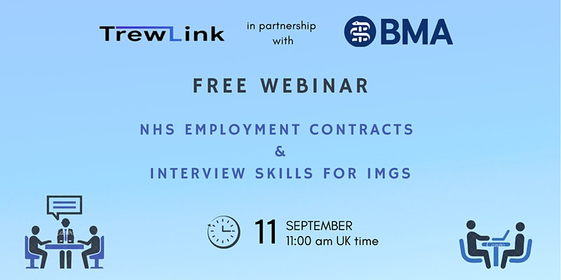 NHS jobs: guidance on interview skills & NHS employment contracts for IMGs