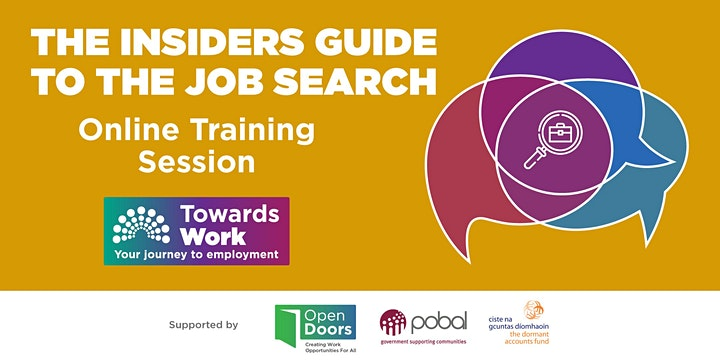Towards Work Training- The Insiders Guide to the Job Search
